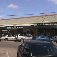 The Bible Book Store in downtown Meridian, MS, Меридиан