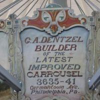 Dentzel Carousel, Меридиан