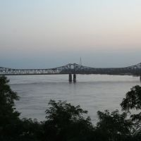 Natchez, Bridge on the Mississippi River, Натчес