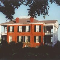 "1820 ""Rosalie"" Peter Little mansion, Natchez Ms, scanned 35mm (8-9-2000), Натчес"