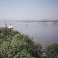Mississippi River in Natchez, Mississippi, USA, Натчес