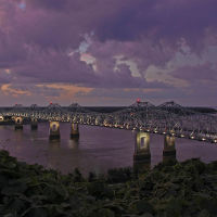 Natchez-Vidalia Bridge, Натчес