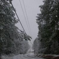 Yep, snows here too sometimes. Jan. 08, Окин Спрингс