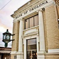 Bank of Okolona - ca.1900, Околона