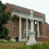 Neshoba County Courthouse & Confederate Monument, Philadelphia, Mississippi
