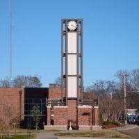 Clocktower at Pearl City Hall., Пирл