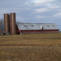 The Red Barn in Rolling Fork, Mississippi, Роллинг-Форк