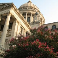 Mississippi Capitol from below, Салтилло