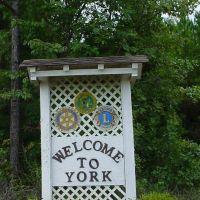 Welcome to York, Alabama, Сандерсвилл