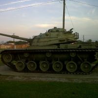 M60 tank Forest MS VFW, Сандерсвилл