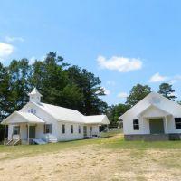 Three Forks Baptist Church ~ Bigbee ~ Washington County ~ Alabama, Сандерсвилл