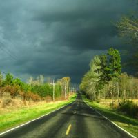 tank road facing east in south hinds county, mississippi, Силвер-Крик