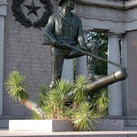 Texas State Memorial, near the Railroad Redoubt, Vicksburg National Military Park, Mississippi, Силвер-Крик