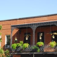 Outdoor Balcony, Tupelo, Mississippi, Тупело