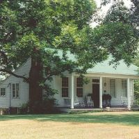 antebellum house, Brandon Miss (8-6-2000), Флаууд