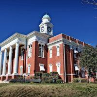 Attala County Courthouse - Built 1897 - Kosciusko, MS, Флаууд