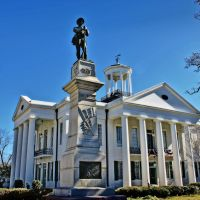 Hinds County Courthouse - Built 1857 - Raymond, MS, Флаууд