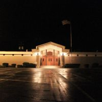 Jasper County Courthouse - Built 1972 - Paulding, MS, Флаууд