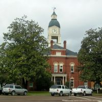 Holmes County Courthouse, Lexington, Mississippi, Флоренк