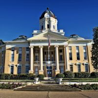 Simpson County Courthouse - Built 1907 - Mendenhall, MS, Флоренк