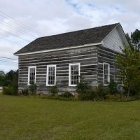 Andrews Chapel McIntosh, Alabama   One of the only remaining log cabin churches in Alabama, Хармони