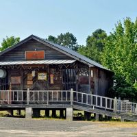 Old Frank Carlisle GenMdse Store at the  Choctaw County Historical Museum at Gilbertown, AL, Хармони