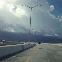 Hwy 90 bridge over Bay St Louis MS, Хендерсон Поинт