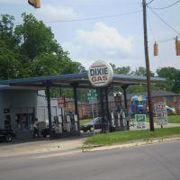 Dixie gas station, Хикори