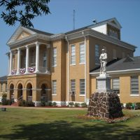 Choctaw County Courthouse at Butler, AL (built 1906), Хикори