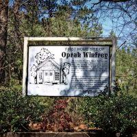 First Home Site of Oprah Winfrey, Хикори