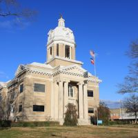 Chickasaw County Courthouse - Built 1909 - Houston, MS, Хьюстон