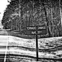 Natchez Trace 4/27/11 Tornado Damage, Шав