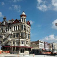 historic building being renovated, Sedalia, MO, Бонн Терр