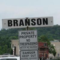 Branson RR Sign, Брансон