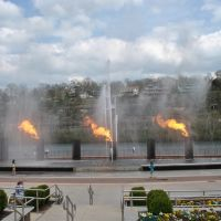 Branson fire and water show, Брансон