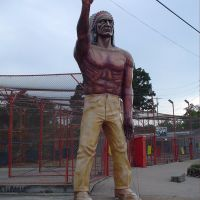 Indian Muffler Man, Варсон Вудс