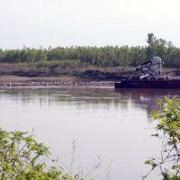 Barge on Missouri River, Велда Виллидж Хиллс