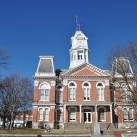 Howard county courthouse,Fayette,MO