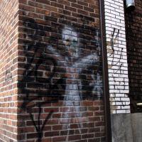 Wall ghost, Деслог