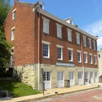 Old house Jefferson Landing historic site - Jefferson City MO, Джефферсон-Сити