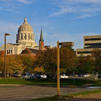Missouri State Capitol at sunset, Джефферсон-Сити