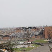 Joplin High School After May 22, 2011 Tornados, Джоплин