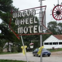 Wagon Wheel Motel , Cuba ,MO, Диксон