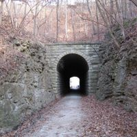Rocheport Tunnel - Katy Trail, Елвинс