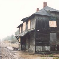 Chicago & Alton Depot -- before restoration [Independence, MO, USA], Индепенденс
