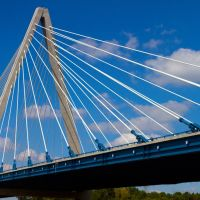 Christopher S.  Bond Bridge over Missouri river, Канзас-Сити