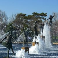 WATER FOUNTAIN AT NORTH KANSAS CITY, Канзас-Сити