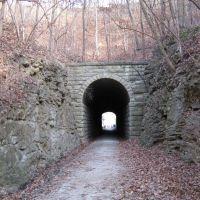 Rocheport Tunnel - Katy Trail, Кап Гирардиу