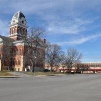 Saline County courthouse, Marshall, MO, Кап Гирардиу