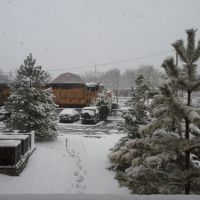 El tren va lento por la nieve, Кирквуд